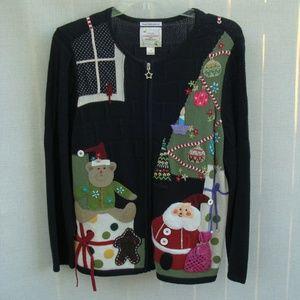 cj Banks Christmas sweater 1X